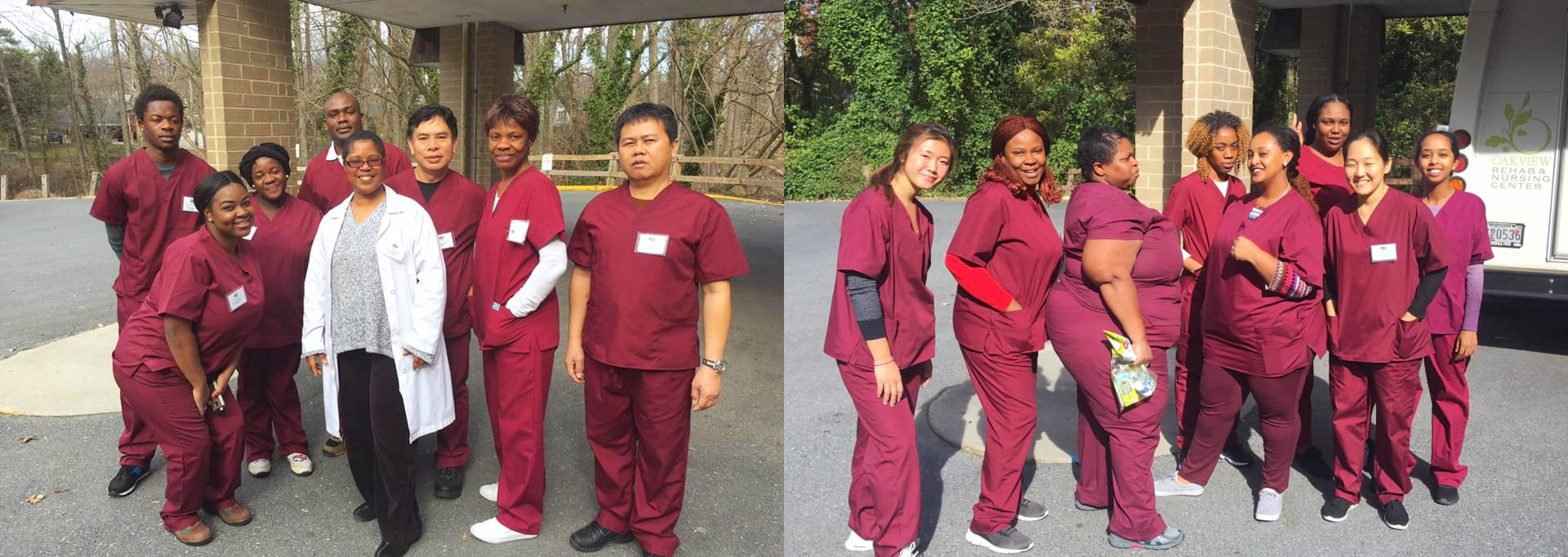 Healthcare staffs
